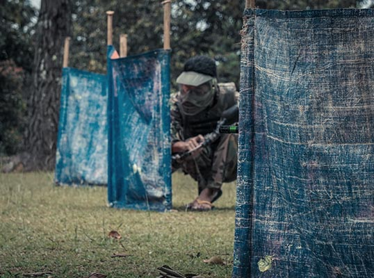 hide Paintball